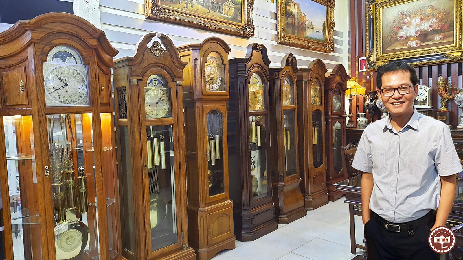 Đồng hồ Tủ tạ cổ châu Âu – Bộ sưu tầm tuyển chọn