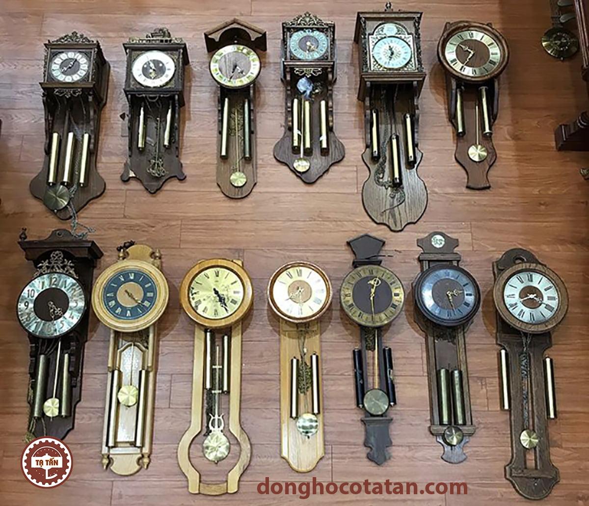 Lô đồng hồ Tạ khúc cổ Châu Âu