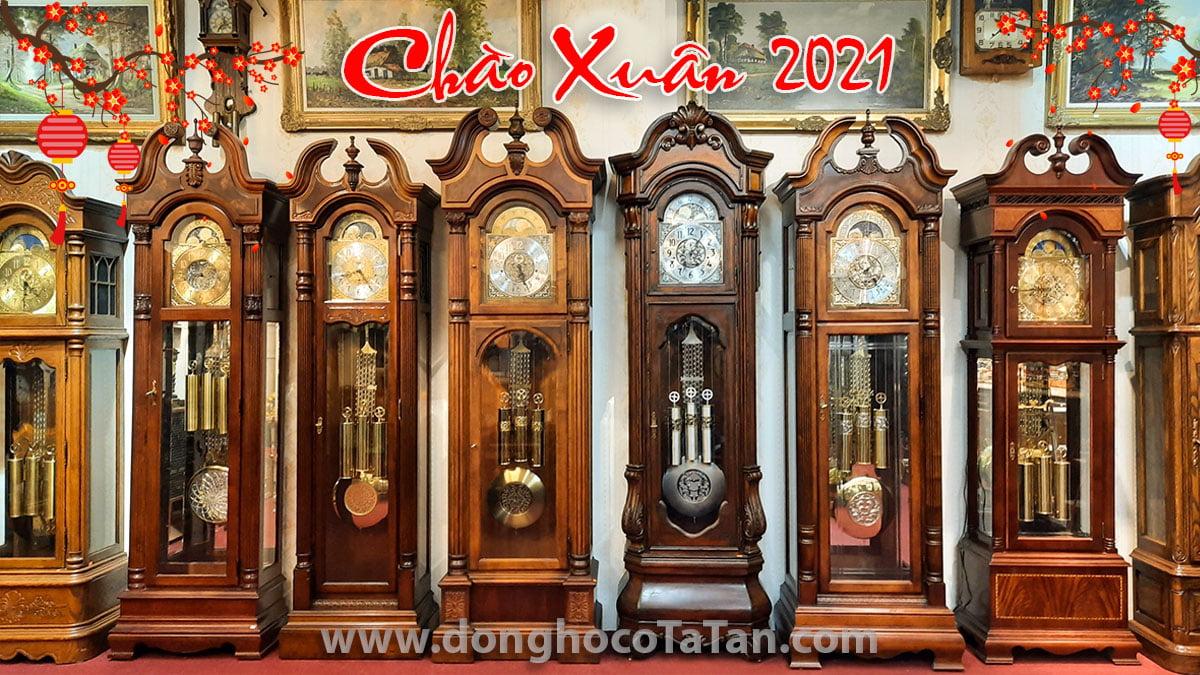 Lô đồng hồ tủ châu Âu chào xuân 2021